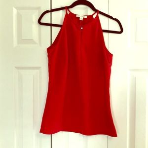 Gorgeous red tank top blouse